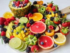 alcalinidad en fruta